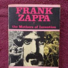 Catálogos de Música: FRANK ZAPPA Y THE MOTHERS OF INVENTION - ALAIN DISTER - LOS JUGLARES - EDICIONES JUCAR. Lote 255373785