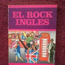 Catálogos de Música: EL ROCK INGLES - ALAIN DISTER - LOS JUGLARES - EDICIONES JUCAR. Lote 255376535