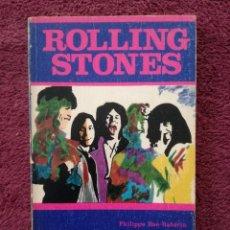 Catálogos de Música: ROLLING STONES - PHILIPPE BAS-RABERIN - LOS JUGLARES - EDICIONES JUCAR. Lote 255376720