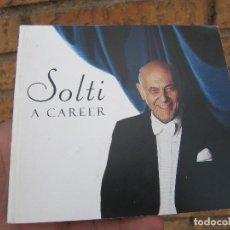 Catálogos de Música: LIBRETO CATALOGO SOLTI. A CAREER. DECCA. Lote 255659485