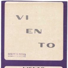 Catálogos de Música: CANCIONERO VIENTO DE MARI TRINI. Lote 255672540