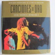 Catálogos de Música: CACIONES DE ORO (SOLO LIBRO) ESTILOS E INTERPRETES INTERNACIONAL II. Lote 255925420