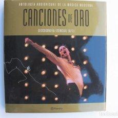 Catálogos de Música: CACIONES DE ORO (SOLO LIBRO) DISCOGRAFIA ESENCIAL (A/L). Lote 255925560