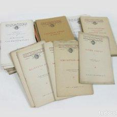 Catálogos de Música: LOTE DE 72 CATÁLOGOS O FOLLETOS DE CONCIERTOS DE LA SOCIEDAD FILARMÓNICA DE MADRID. Lote 255936410