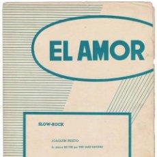 Catálogos de Música: CANCIONERO EL AMOR POR THE JAZZ SINGERS. Lote 257360410