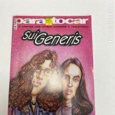 Catálogos de Música: PARA TOCAR SUI GENERIS-LETRAS ACORDES Y TABLATURAS (3,33 ENVÍO CERTIFICADO). Lote 259917695