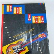 Catálogos de Música: LIBRO BE POP A LULA,BIOGRAFÍA DEL ROCK, CAIXA DE PENSIONS, 1985 (3,33 ENVÍO CERTIFICADO). Lote 259920935