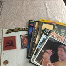 Catálogos de Música: POSTER Y PARCHES DE HEAVY METAL. Lote 260697690