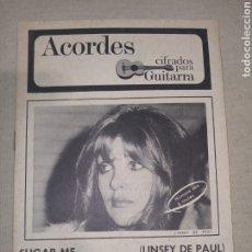 Catálogos de Música: LINSEY BOONE THE BAY CITY ROLLERS ACORDES GUITARRA. Lote 261283400