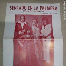 Catálogos de Música: CIFRADO GUITARRA RCA SENTADO EN LA PALMERA. Lote 261359095