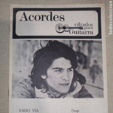 Catálogos de Música: ACORDES GUITARRA DRUPI BOONE LINSEY DE PAUL. Lote 261359765