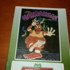Catálogos de Música: LIBRETOS DE CARNAVAL LOS MANDANGAS DANZERS. C16L. Lote 261363740