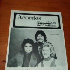 Catálogos de Música: CANCIONERO Y ACORDES. NUBES GRISES. MARISA RAMPIN. PACO MONTERO. C16L. Lote 261447830