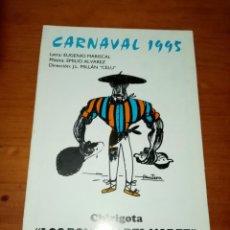 Catálogos de Música: LIBRETO DE CARNAVAL 1995. CHIRIGOTA. LOS BONITOS DEL NORTE. C16L. Lote 261519865