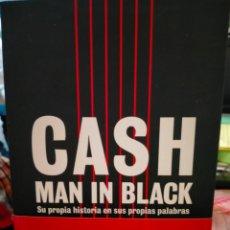 Catálogos de Música: JOHNNY CASH .MAN IN BLACK(SU PROPIA HISTORIA).A.MACHADO EDITOR. Lote 261636715