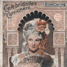 Catálogos de Música: CANCIONERO CELEBRIDADES IMPERIO ARGENTINA. Lote 263903560