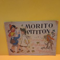 Catálogos de Música: ANTIGUO CANCIONERO..MORITO PITITON....1940....CANCIONES POPULARES ESPAÑOLAS.... Lote 265151429
