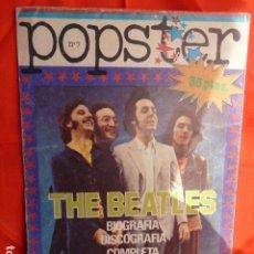 Catálogos de Música: THE BEATLES - POPSTER. Lote 266169998