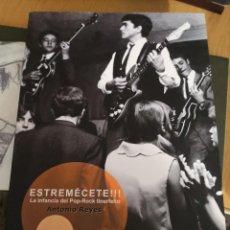 Catálogos de Música: LIBRO ESTREMECETE : LA INFANCIA DEL POP-ROCK TINERFEÑO - ANTONIO REYES - BOOK. Lote 267339439