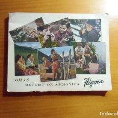 Catalogues de Musique: GRAN METODO DE ARMONICA HIGMA.1958. 92 PAGINAS.. Lote 277184943