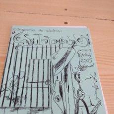 Catalogues de Musique: C-13 LIBRETO MUSICA CARNAVAL DE CADIZ LAS INTOCABLES. Lote 277230318