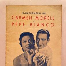 Catalogues de Musique: LIBRETO OBRA AVENTURAS DEL QUERER DE CAMEN MORREL Y PEPE BLANCO. Lote 277289993