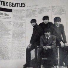 Catálogos de Música: PUBLICACIÓN BEATLES 1962/1966. Lote 278626203