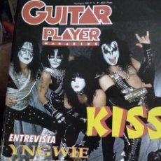 Catálogos de Música: PUBLICACION GUITAR PLAYER MAGAZINE, GRUPO KISS. Lote 278628023