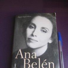 Catálogos de Música: ANA BELEN - MIGUEL ANGEL VILLENA - PLAZA JANES 1ª ED 2002 - MUCHAS FOTOS - BIOGRAFIA - MUSICA. Lote 278869728