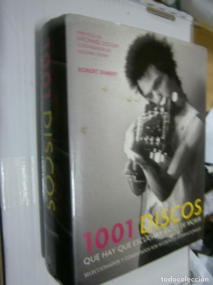 ESPECTACULAR LIBRO - 1001 DISCOS QUE HAY QUE ESCUCHAR ANTES DE MORIR (Música - Catálogos de Música, Libros y Cancioneros)