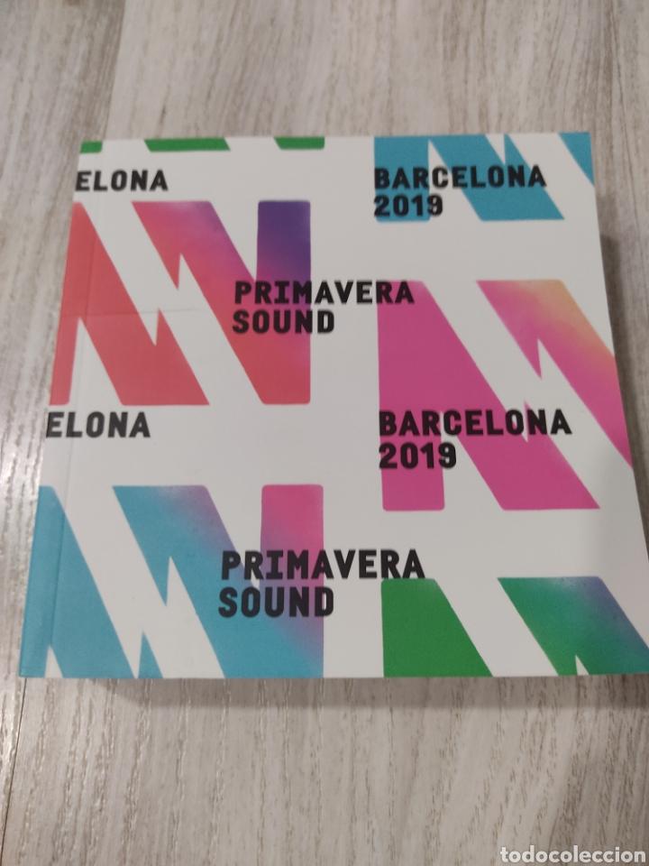 PRIMAVERA SOUND 2019 BARCELONA LISTADO DE GRUPOS (Música - Catálogos de Música, Libros y Cancioneros)