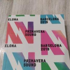 Catálogos de Música: PRIMAVERA SOUND 2019 BARCELONA LISTADO DE GRUPOS. Lote 279324938