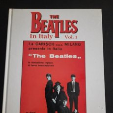 Catálogos de Música: THE BEATLES EN ITALIA. Lote 284621368