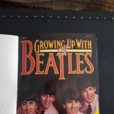 Catálogos de Música: LIBRO GROWING UP WITH THE BEATLES. Lote 284626268