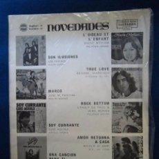 Catálogos de Música: BEATLES GEORGE HARRISON ACORDES PARA GUITARRA ESPAÑA 1977 CANCIONES DEL MUNDO. Lote 286016983
