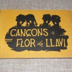 Catálogos de Música: CANÇON A FLOR DE LLAVI COLECCIÓ ESPLAI 1961 DE NOVA. Lote 286197343