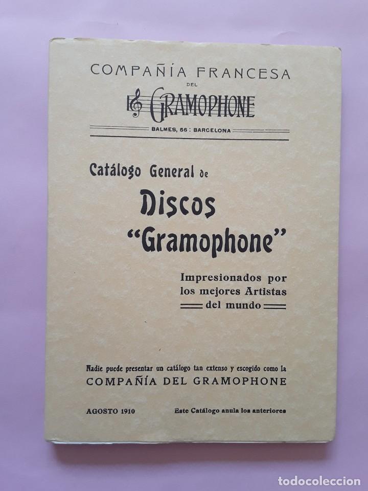 DISCOS GRAMOPHONE - -ENVÍO CERTIF TC 4,99 (Música - Catálogos de Música, Libros y Cancioneros)