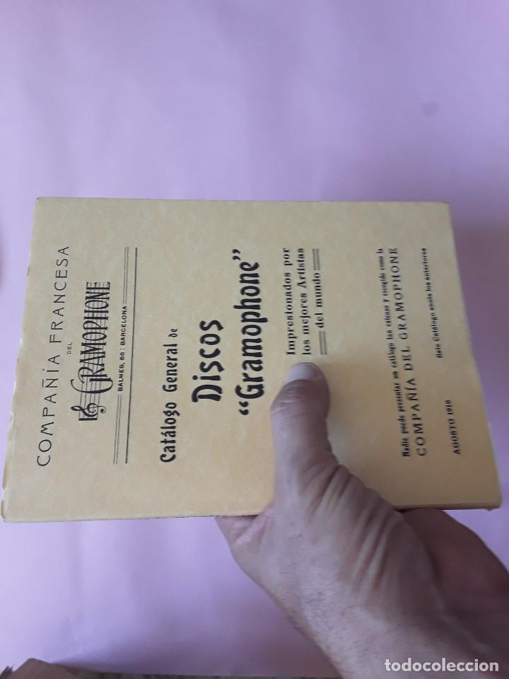 Catálogos de Música: DISCOS GRAMOPHONE - -envío certif TC 4,99 - Foto 9 - 286540733