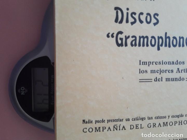 Catálogos de Música: DISCOS GRAMOPHONE - -envío certif TC 4,99 - Foto 2 - 286540733