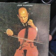 Catálogos de Música: PABLO CASALS JOAN ALAVEDRA PUBLICACIONES ESPAÑOLAS 1976. Lote 287442513