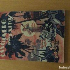 Catálogos de Música: CANCIONERO DE LOS ÉXITOS. Lote 287726763