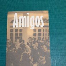 Catálogos de Música: AMIGOS RESIDENCIA ESTUDIANTES MADRID CATÁLOGOS DD. Lote 287755308