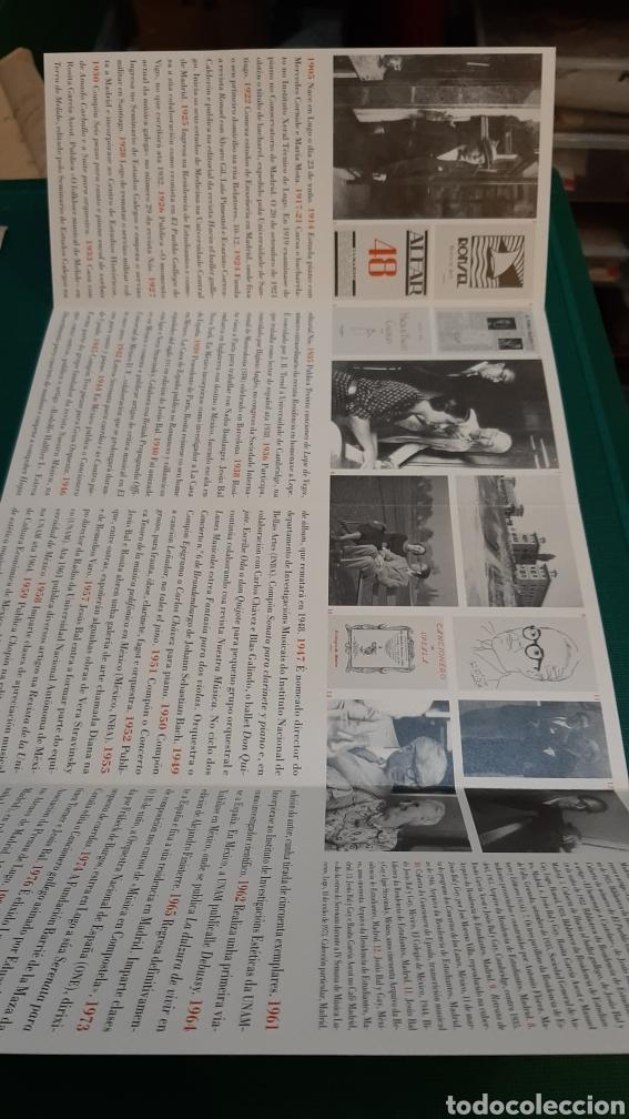 Catálogos de Música: BAL Y GAY COMPOSITOR MÚSICA CATÁLOGOS EXPOSICIÓN LUGO MADRID - Foto 2 - 287758338