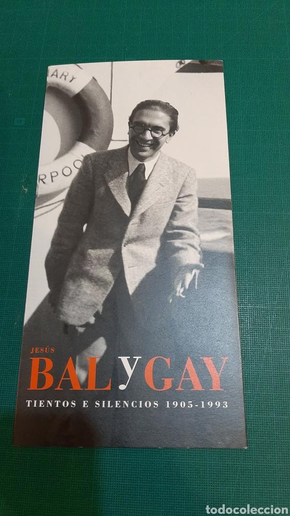 BAL Y GAY COMPOSITOR MÚSICA CATÁLOGOS EXPOSICIÓN LUGO MADRID (Música - Catálogos de Música, Libros y Cancioneros)
