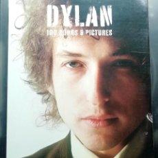Catálogos de Música: DYLAN 100 SONGS & PICTURES - LIBRO PARTITURAS Y + 100 FOTOS BOB DYLAN- 496 PÁGINAS. Lote 287902758