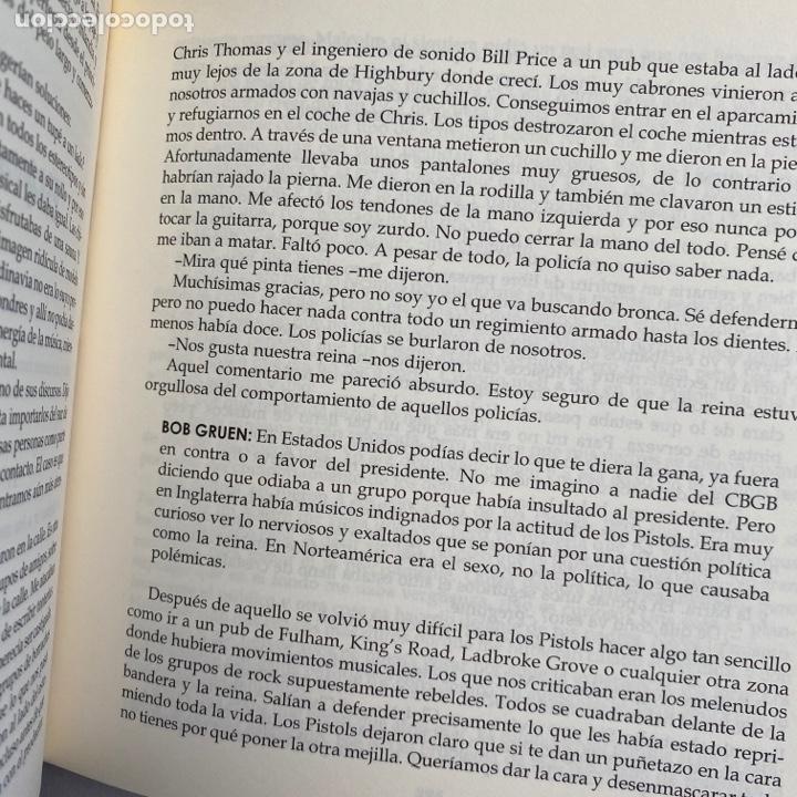 Catálogos de Música: Libro Rotten No irish, no blacks, no dogs autobiografía autorizada Johnny cantante sex pistols - Foto 4 - 288576773