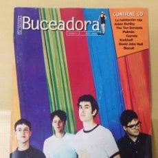 Catálogos de Música: FANZINE. BUCEADORA 2. EDITADO POR GRABACIONES EL MAR POP INDEPENDIENTE 1998 SIN CD HABITACIÓN ROJA. Lote 288600648
