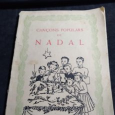 Catálogos de Música: CANÇONS POPULARS DE NADAL. Lote 288865898