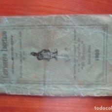 Catálogos de Música: CANCIONERO LORETANO -COLECCION DE ZARZUELAS.CANCIONES, YARAVIES,VALS...IQUITOS PERU,1908. Lote 290040663