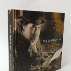 Cataloghi di Musica: JOAQUIN SABINA, CON BUENA LETRA, LIBRO CON LA DISCOGRAFIA Y LETRAS DE SUS CANCIONES,2002. Lote 290903003